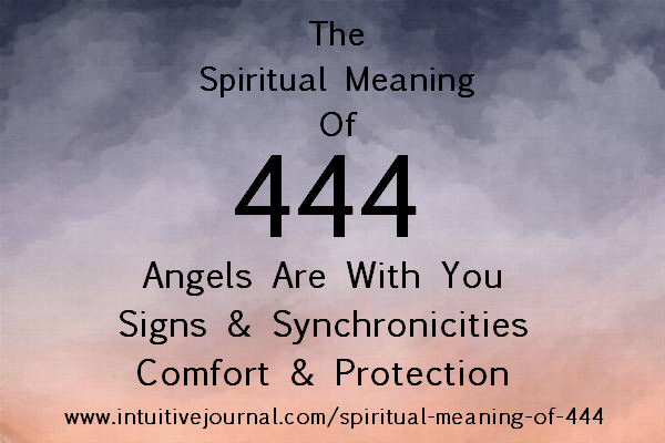 spiritual meaning of 444 - angel number 444