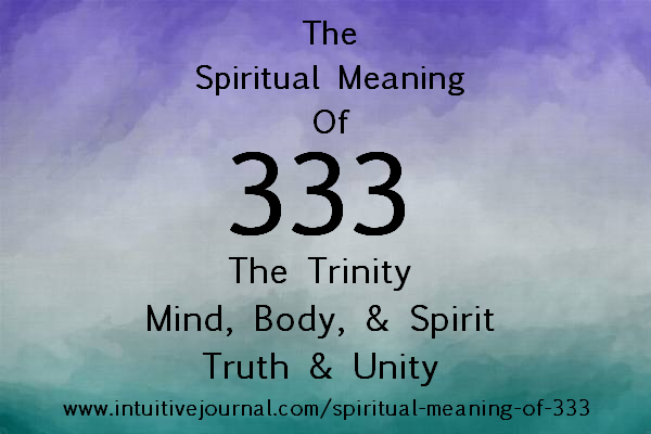 spiritual meaning of 333 - angel number 333