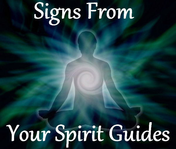 signs from your spirit guides