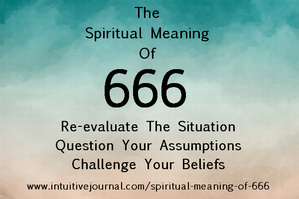 spiritual meaning of 666 - angel number 666